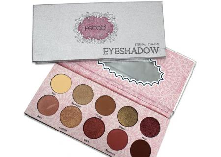 Paleta farduri Febble Eyeshadow Eternal Charm! 10 Colors2