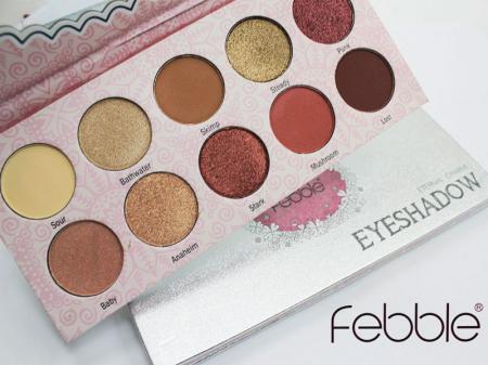 Paleta farduri Febble Eyeshadow Eternal Charm! 10 Colors4