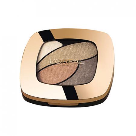 Paleta farduri L'Oreal Paris Color Riche Les Ombres, Smoky, E2 Nude Lingerie