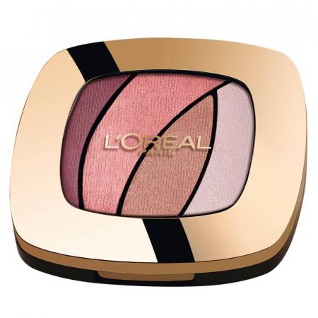 Paleta farduri L'Oreal Paris Color Riche Les Ombres, S10 Seductive Rose
