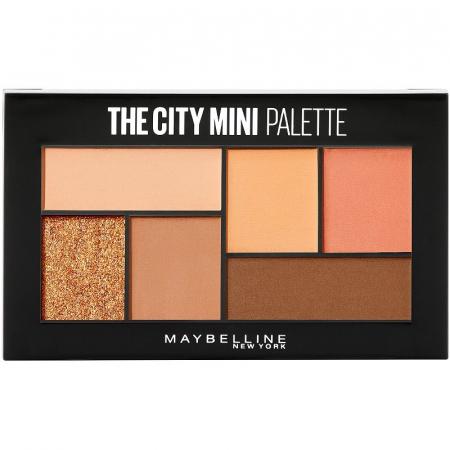 Paleta Farduri Maybelline New York The City Mini Palette, 550 Cocoa City