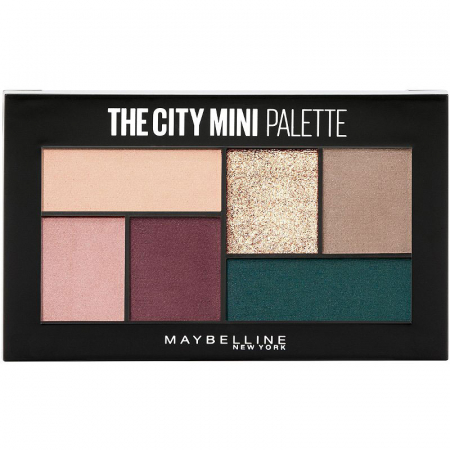 Paleta Farduri Maybelline New York The City Mini Palette, 540 Diamond District
