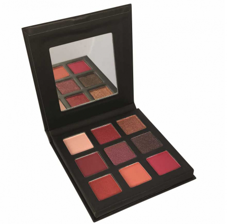 Paleta Farduri TECHNIC Pressed Pigment Palette, Intrigued, 9 culori0