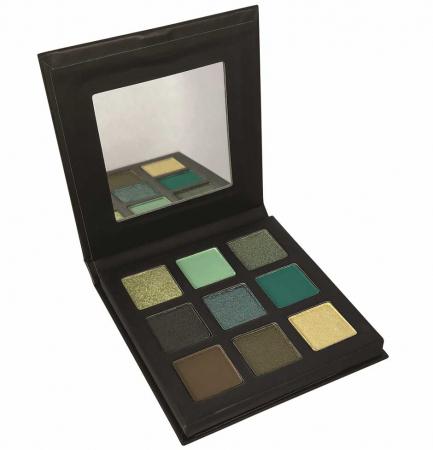 Paleta Farduri TECHNIC Pressed Pigment Palette, Mesmerising, 9 culori0