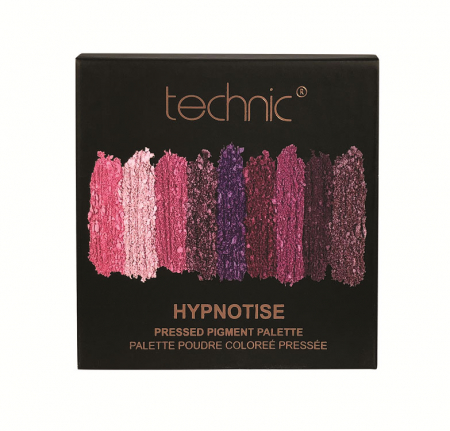 Paleta Farduri TECHNIC Pressed Pigment Palette, Hypnotise, 9 culori2