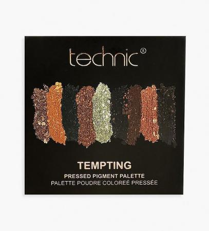 Paleta Farduri TECHNIC Pressed Pigment Palette, Tempting, 9 culori1