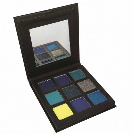 Paleta Farduri TECHNIC Pressed Pigment Palette, Captivated, 9 culori