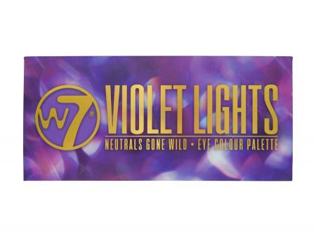 Paleta farduri W7 Violet Lights Neutrals Gone Wild, 14 culori, 9.6g6