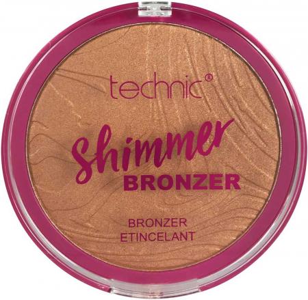 Paleta Iluminatoare Bronzanta TECHNIC Large Shimmer Bronzer, 25 g