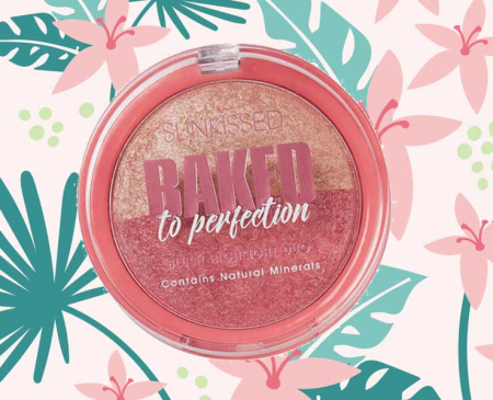 Paleta Iluminatoare Duo SUNKISSED Baked to Perfection Blush, 17 g2
