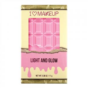 Paleta pentru conturare, iluminare si evidentiere MAKEUP REVOLUTION I Heart Makeup - Light and Glow3