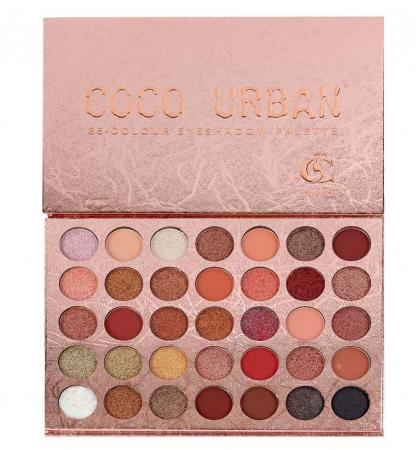 Paleta Profesionala de Farduri Coco Urban, 35 Color Eyeshadow Palette