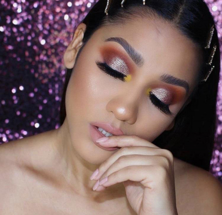 Paleta Profesionala de Farduri Beauty Creations Seduce Me, 18 culori, 21.6 g4