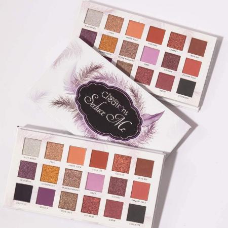 Paleta Profesionala de Farduri Beauty Creations Seduce Me, 18 culori, 21.6 g8
