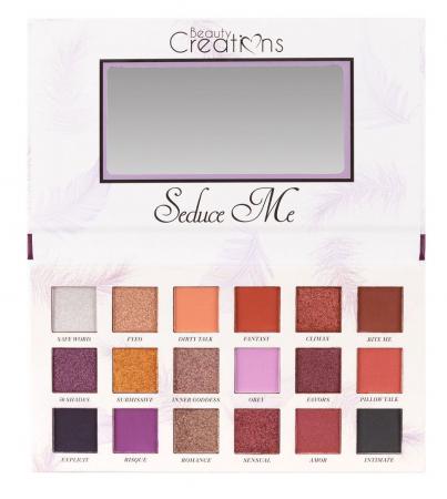Paleta Profesionala de Farduri Beauty Creations Seduce Me, 18 culori, 21.6 g7