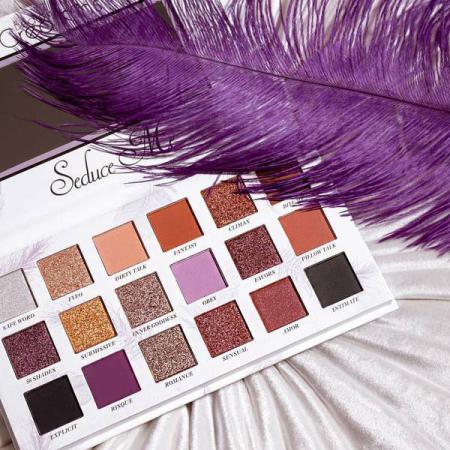 Paleta Profesionala de Farduri Beauty Creations Seduce Me, 18 culori, 21.6 g11