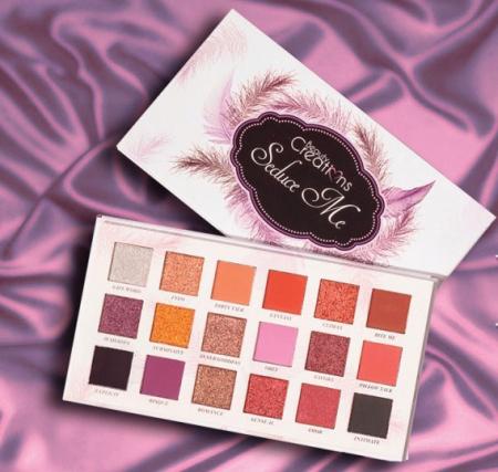 Paleta Profesionala de Farduri Beauty Creations Seduce Me, 18 culori, 21.6 g2
