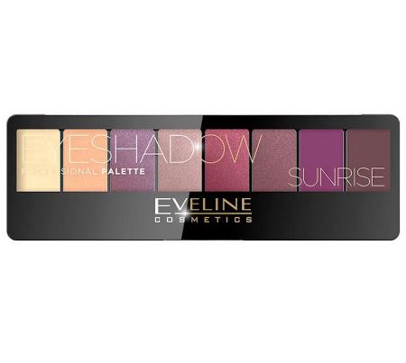Paleta Profesionala de Farduri EVELINE Sunrise Eyeshadow Palette, 8 nuante0