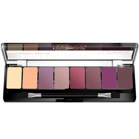 Paleta Profesionala de Farduri EVELINE Sunrise Eyeshadow Palette, 8 nuante1