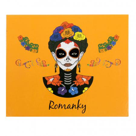 Paleta Profesionala de Farduri Romanky, 30 Color Eyeshadow Palette, 36 g3