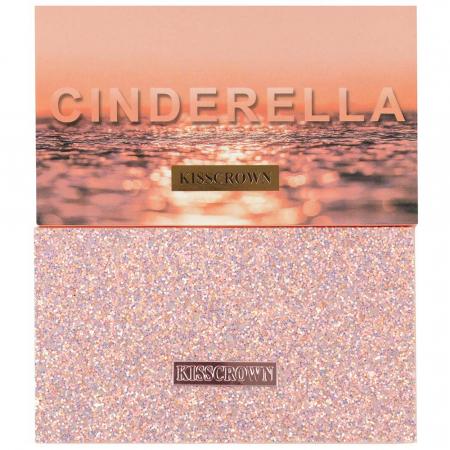 Paleta Profesionala de Farduri CINDERELLA Kiss Crown, 18 Color Eyeshadow Palette2