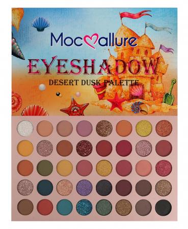Paleta Profesionala de Farduri Mocallure 40 Eyeshadow Palette, Desert Dusk, 40 x 1 g