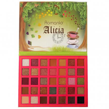 Paleta Profesionala de Farduri Alicia Romanky, 35 Color Eyeshadow Palette0