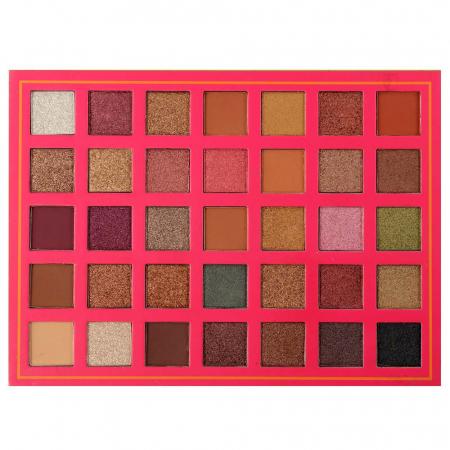 Paleta Profesionala de Farduri Alicia Romanky, 35 Color Eyeshadow Palette1