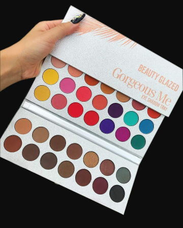 Paleta Profesionala de Farduri Beauty Glazed Gorgeous Me, Eye Shadow Tray, 63 Culori13
