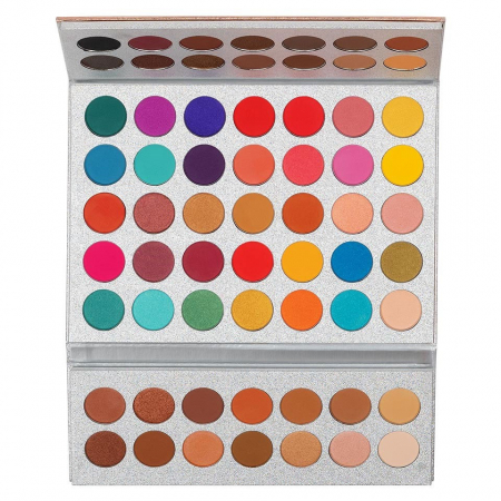 Paleta Profesionala de Farduri Beauty Glazed Gorgeous Me, Eye Shadow Tray, 63 Culori