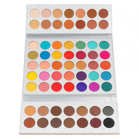 Paleta Profesionala de Farduri Beauty Glazed Gorgeous Me, Eye Shadow Tray, 63 Culori10