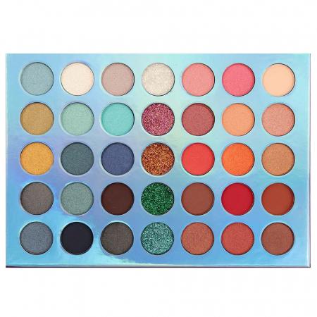 Paleta Profesionala de Farduri Igoodco, 35 Color Eyeshadow Palette, 36 x 1.5 g1