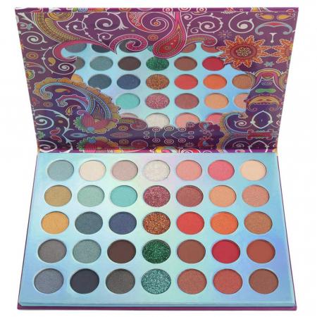 Paleta Profesionala de Farduri Igoodco, 35 Color Eyeshadow Palette, 36 x 1.5 g3
