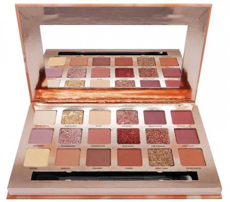 Paleta Profesionala de Farduri W7 Socialite Pigment Palette, 18 Culori, 17 g4