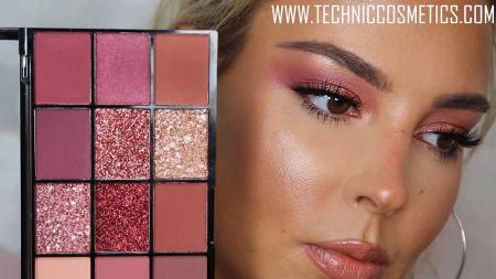 Paleta Profesionala de Farduri Technic 15 Pressed Pigment Palette, Invite Only, 15 Culori, 21.9 g11