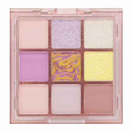 Paleta Profesionala de Farduri W7 Soft Hues Pressed Pigment Palette, Rose Quartz, 9 culori, 8.1 g1