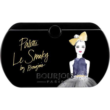 Paleta de Farduri Bourjois Paris Le Smoky Eyeshadow Palette, 02 Le Smoky6