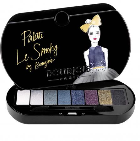 Paleta de Farduri Bourjois Paris Le Smoky Eyeshadow Palette, 02 Le Smoky