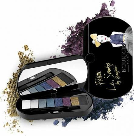 Paleta de Farduri Bourjois Paris Le Smoky Eyeshadow Palette, 02 Le Smoky4