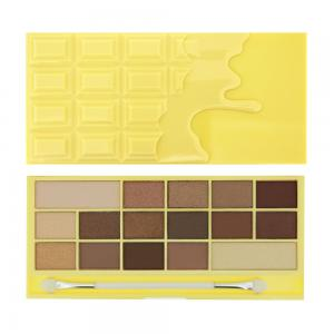 Paleta de Farduri MAKEUP REVOLUTION I Heart Makeup I Love Chocolate - White Chocolate