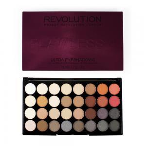Paleta Profesionala Cu 32 Farduri Makeup Revolution - Flawless 2