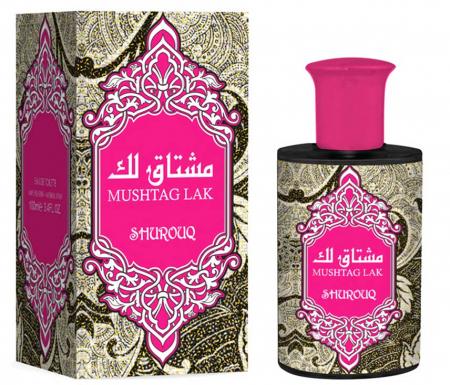 Parfum arabesc dama, Mushtag Lak by SHUROUQ EDT, 100 ml
