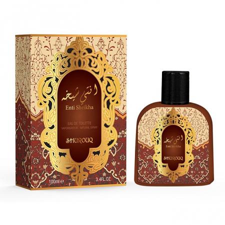 Parfum arabesc dama, Enti Sheikha by SHUROUQ EDT, 100 ml