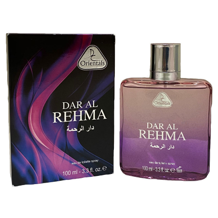 Parfum arabesc unisex, Dar Al Rehma Dorall Collection Orientals EDT, 100 ml