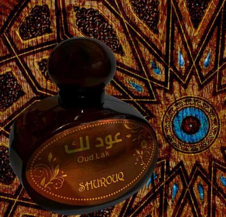 Parfum arabesc unisex, Oud Lak by SHUROUQ EDT, 100 ml1