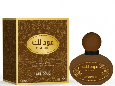 Parfum arabesc unisex, Oud Lak by SHUROUQ EDT, 100 ml