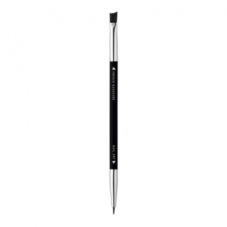 Pensula decoratiuni unghii, Bourjois Paris Professional, 2 capete - French Manicure brush & Nail Art brush