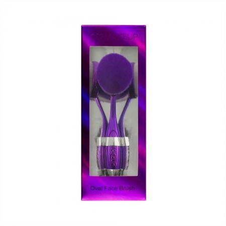 Pensula Ovala I Heart Makeup Oval Face Brush, Purple2