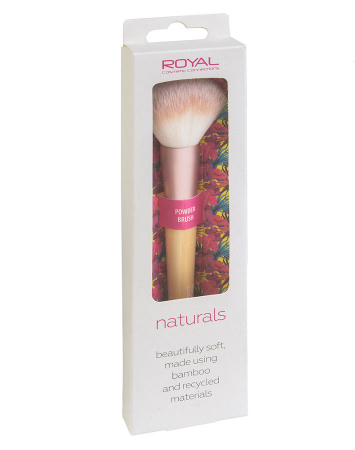 Pensula din bambus pentru pudra ROYAL Natural Powder Brush, 100% Eco-friendly2