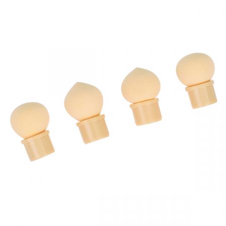Pensula unghii cu burete pentru Ombre Baby Boomer + 4 rezerve, Nail Art Tool, Pink2